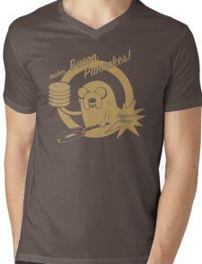 makin bacon pancakes Mens V-Neck T-Shirt