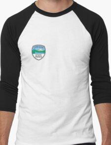 Oregon State Parks Badge Men's Baseball ¾ T-Shirt