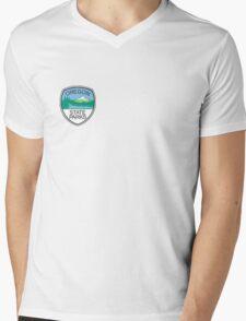 Oregon State Parks Badge Mens V-Neck T-Shirt