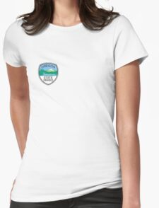 Oregon State Parks Badge Womens Fitted T-Shirt