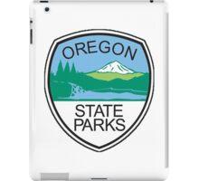 Oregon State Parks Badge iPad Case/Skin