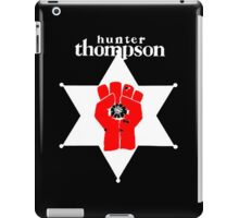 Hunter s thompson iPad Case/Skin