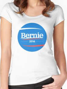 bernie 2016 Women's Fitted Scoop T-Shirt
