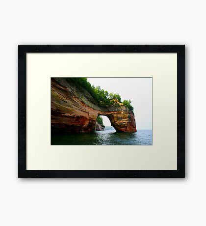 Lover's Leap Framed Print