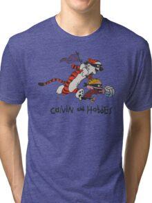 calvin & hobbes Tri-blend T-Shirt