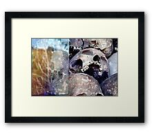Heavenly Skulls Framed Print