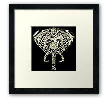 Ethnic Elephant Framed Print
