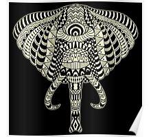 Ethnic Elephant Poster
