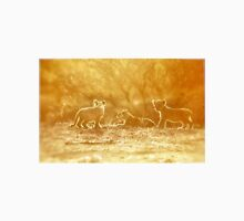 "THE ""THREE"" LITTLE LION CUBS, a Last light capture - THE LION – Panthera leo Unisex T-Shirt"