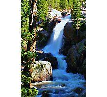 Alberta Falls Photographic Print
