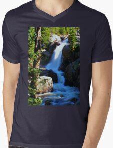 Alberta Falls Mens V-Neck T-Shirt