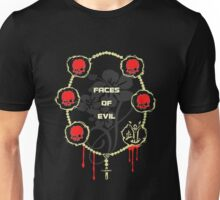 Gangster Totenkopf T-Shirts / Faces of Evil Unisex T-Shirt
