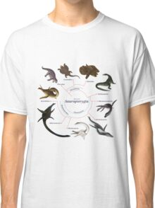 Sauropterygia: The Cladogram Classic T-Shirt
