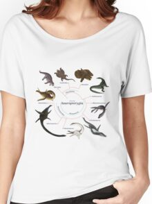 Sauropterygia: The Cladogram Women's Relaxed Fit T-Shirt