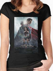 The Dawn Of Justice 3 Warriors Women's Fitted Scoop T-Shirt