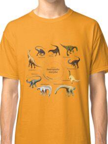 Sauropodomorpha: The Cladogram Classic T-Shirt