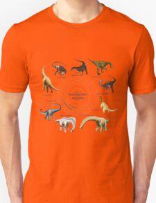Sauropodomorpha: The Cladogram Unisex T-Shirt