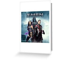 x men apocalypse 2016 Greeting Card