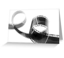 FIlm 35mm 2 Greeting Card