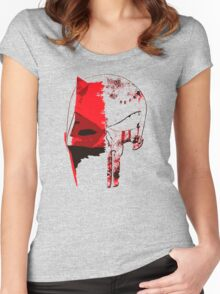 Daredevil - Punisher Women's Fitted Scoop T-Shirt