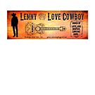 Love Cowboy rust by Lenny36