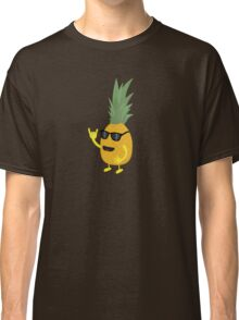 Heavy Metal Pineapple Classic T-Shirt