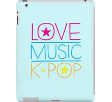LOVE MUSIC K-pop iPad Case/Skin
