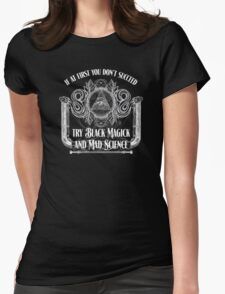 Black Magick Womens Fitted T-Shirt