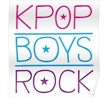 KPOP BOYS ROCK! Poster
