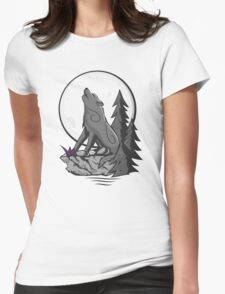 Wolf HQ Womens Fitted T-Shirt