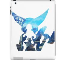 Ratchet and Clank with Wrench in Metropolis iPad Case/Skin