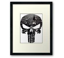 The Punisher - New York Framed Print
