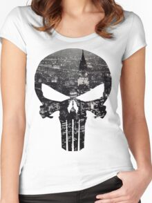 The Punisher - New York Women's Fitted Scoop T-Shirt