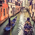 Passing Strangers in Venice by Tarrby