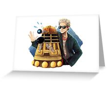 Doctor Who - Explaaiiin!! Greeting Card