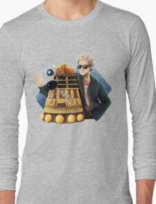 Doctor Who - Explaaiiin!! Long Sleeve T-Shirt