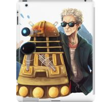 Doctor Who - Explaaiiin!! iPad Case/Skin