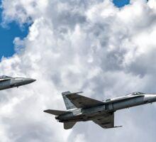 F/A-18 Flyover Sticker