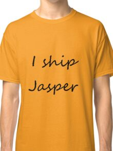 I ship Jasper (Cursive) Classic T-Shirt