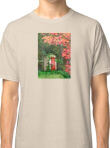 The Red Outhouse Door Classic T-Shirt