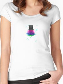 GONK with top hat Women's Fitted Scoop T-Shirt