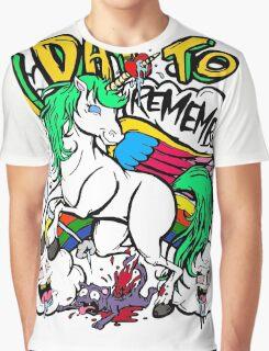 Hero Unicorn Graphic T-Shirt