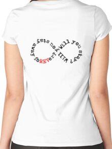 Infinite Women's Fitted Scoop T-Shirt