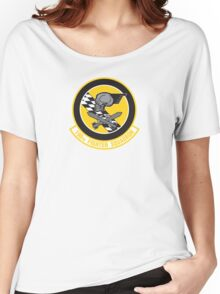 190th Fighter Squadron emblem Women's Relaxed Fit T-Shirt