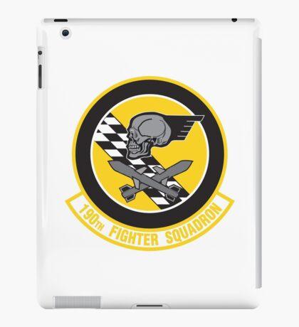 190th Fighter Squadron emblem iPad Case/Skin