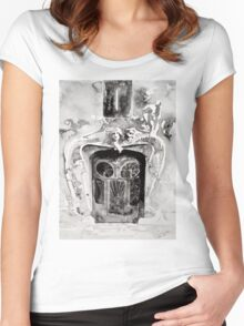 akwarelka 77 Women's Fitted Scoop T-Shirt