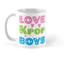 LOVE K-pop BOYS with stars Mug
