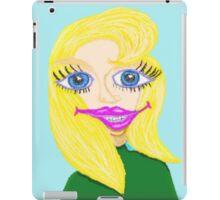 Zelda And Her Award Winning Smile iPad Case/Skin