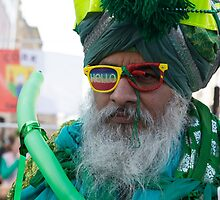 St Patrick's Day Parade  London  by Keith Larby