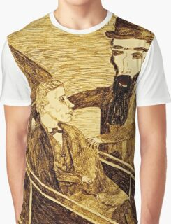 On His Way To The castle Graphic T-Shirt